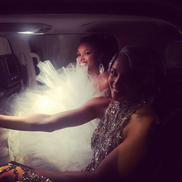 Wardrobe Breakdown: Ciara & Jennifer Hudson At Met Ball 2016