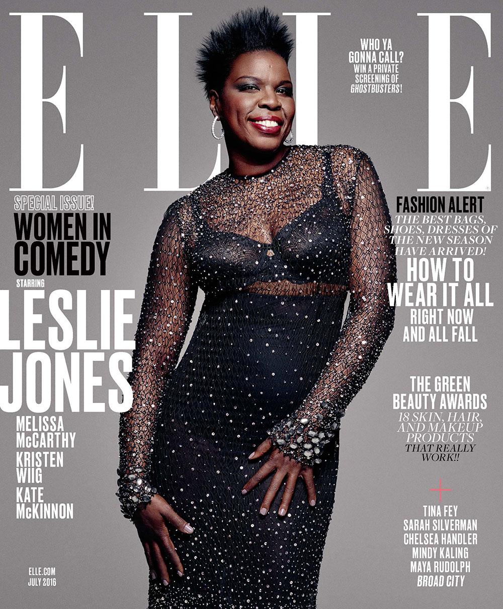 Wardrobe Breakdown: Leslie Jones For 'Elle' Magazine