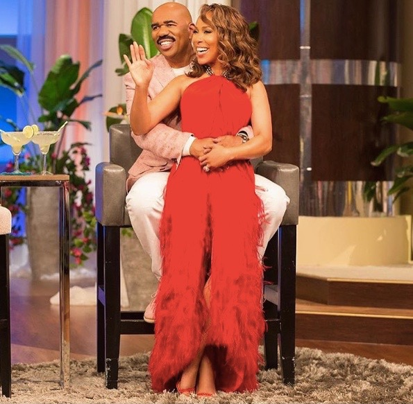Wardrobe Breakdown: Marjorie Harvey On 'The Steve Harvey Show'