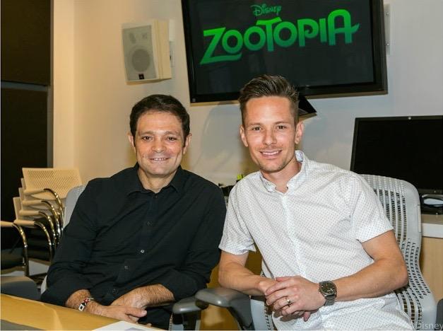 Interviews With Zootopia Animators Renato dos Anjos & Chad Sellers
