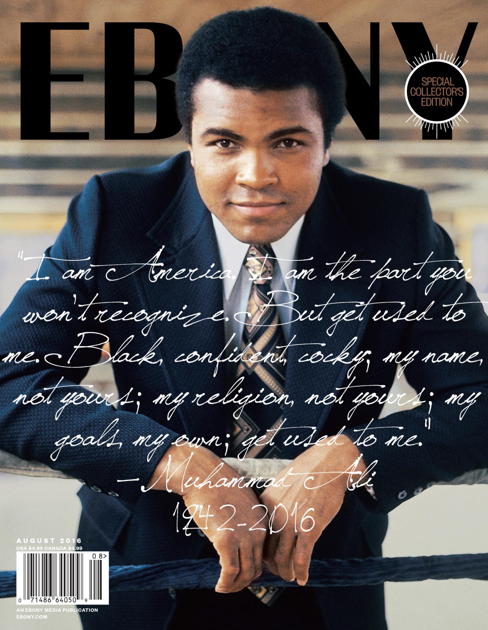 Muhammad Ali For 'Ebony'