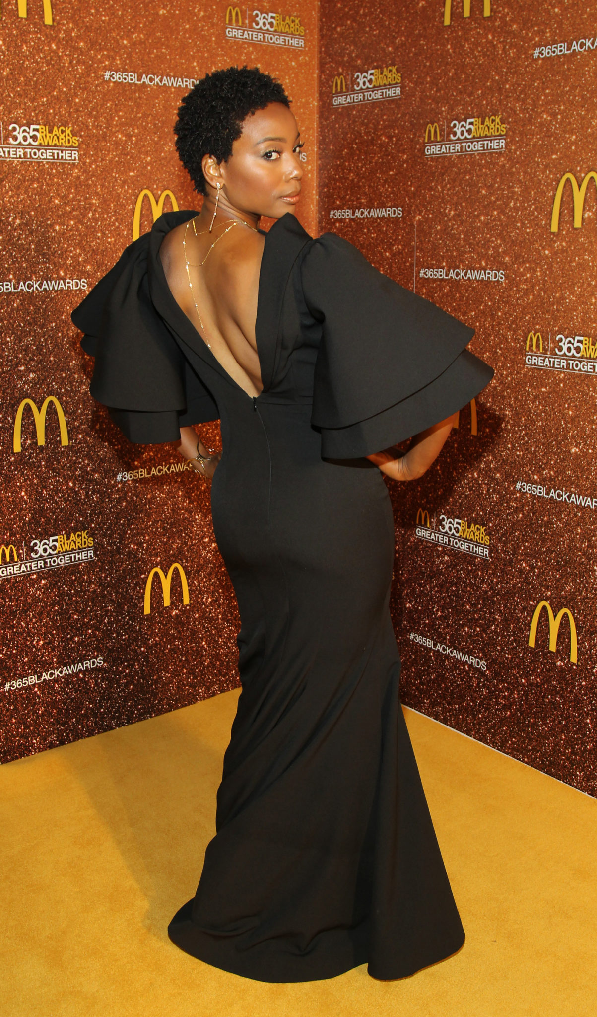 Wardrobe Breakdown: Erica Ash At McDonalds 365 Black Awards