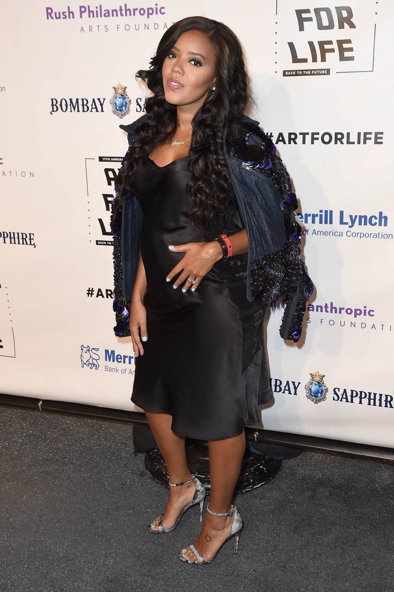 Wardrobe Breakdown: Angela Simmons At 'Art Of Life' Foundation