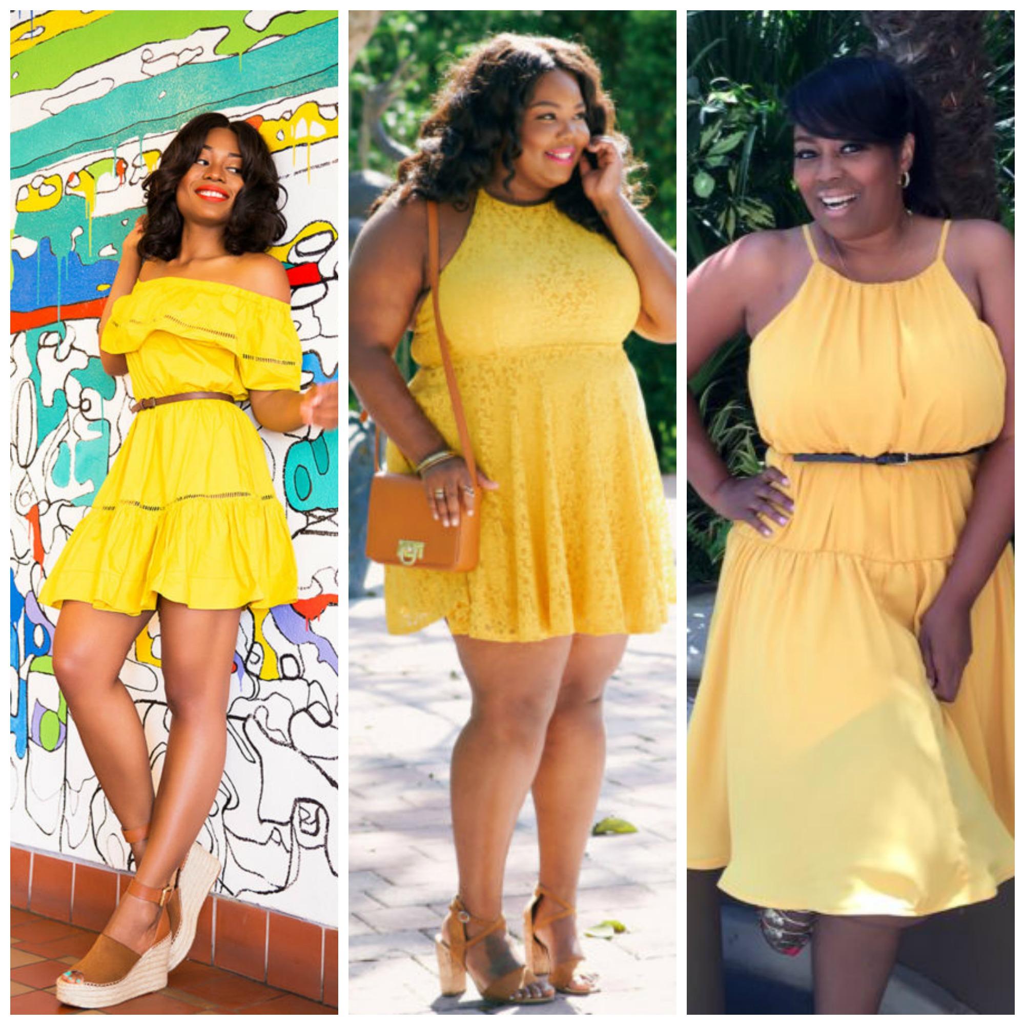 Fashion Trend: Bursts Of Yellow!