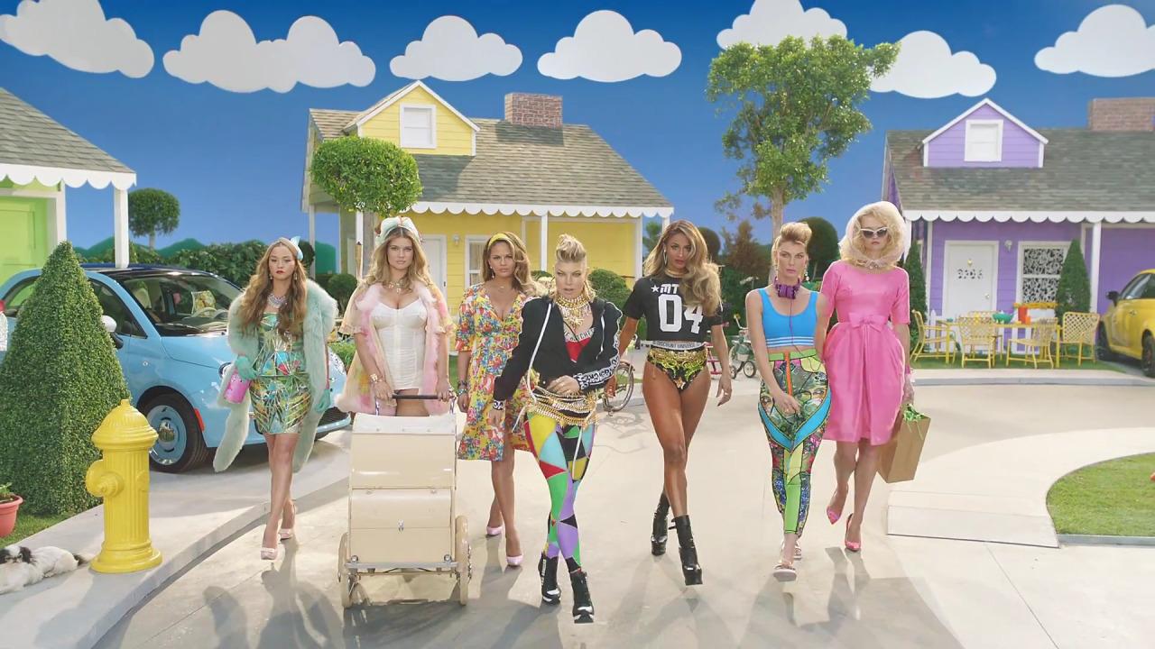 Pinktastic Saturday: Fergie's New Video M.I.L.F. $