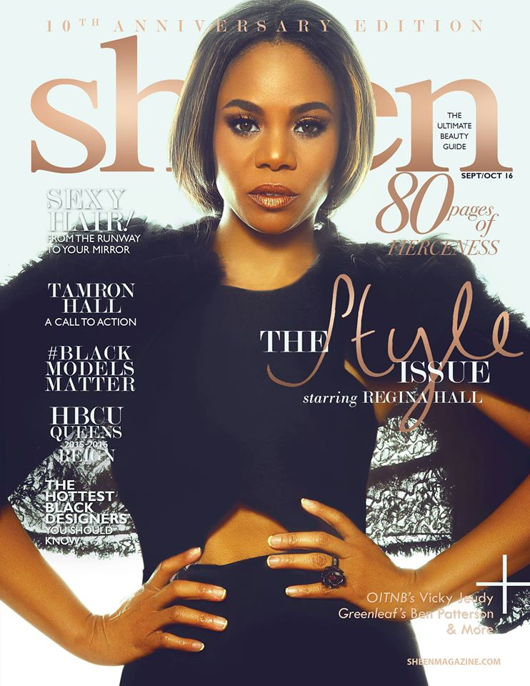 Regina Hall For 'Sheen' Magazine