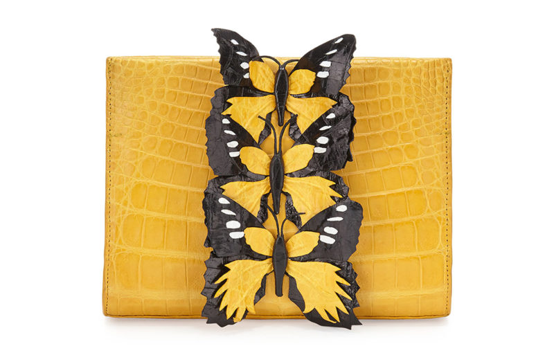 Nancy-Gonzalez-Butterfly-Crocodile-Small-Clutch-Bag