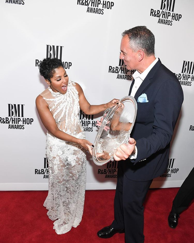 BMI Honors Toni Braxton With The 'BMI President's Award'