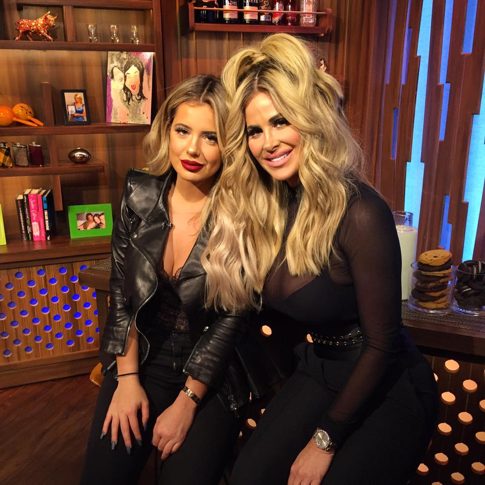 In Case You Missed It: Kim Zolciak-Biermann & Brielle Stop By 'Watch What Happens Live'