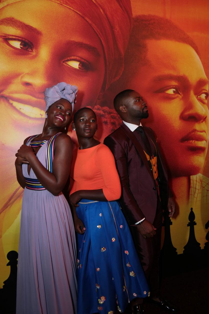 Lupita Nyong'o, Madina Nalwanga, David Oyelowo