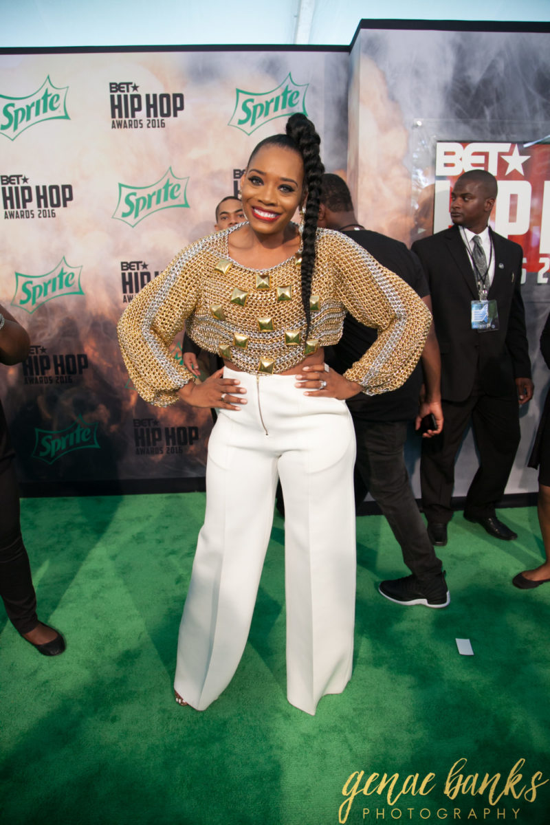 Wardrobe Breakdown: Yandy Smith At BET Hip Hop Awards