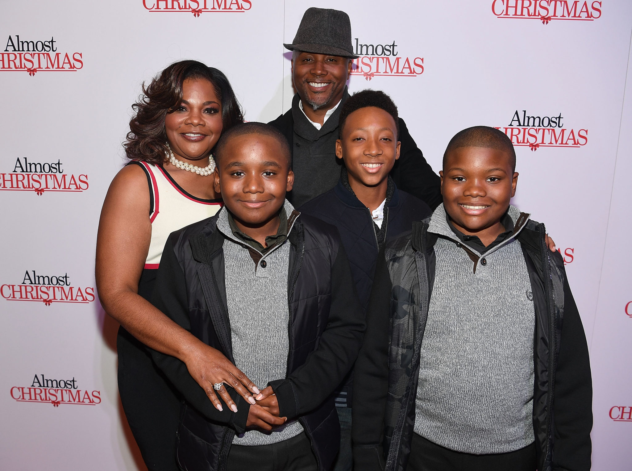 Cast From Almost Christmas.Almost Christmas Atlanta Red Carpet Screening Talking