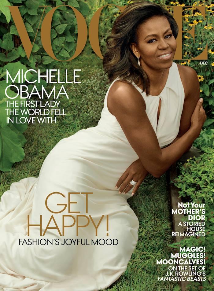 Wardrobe Breakdown: Michelle Obama For Vogue Magazine