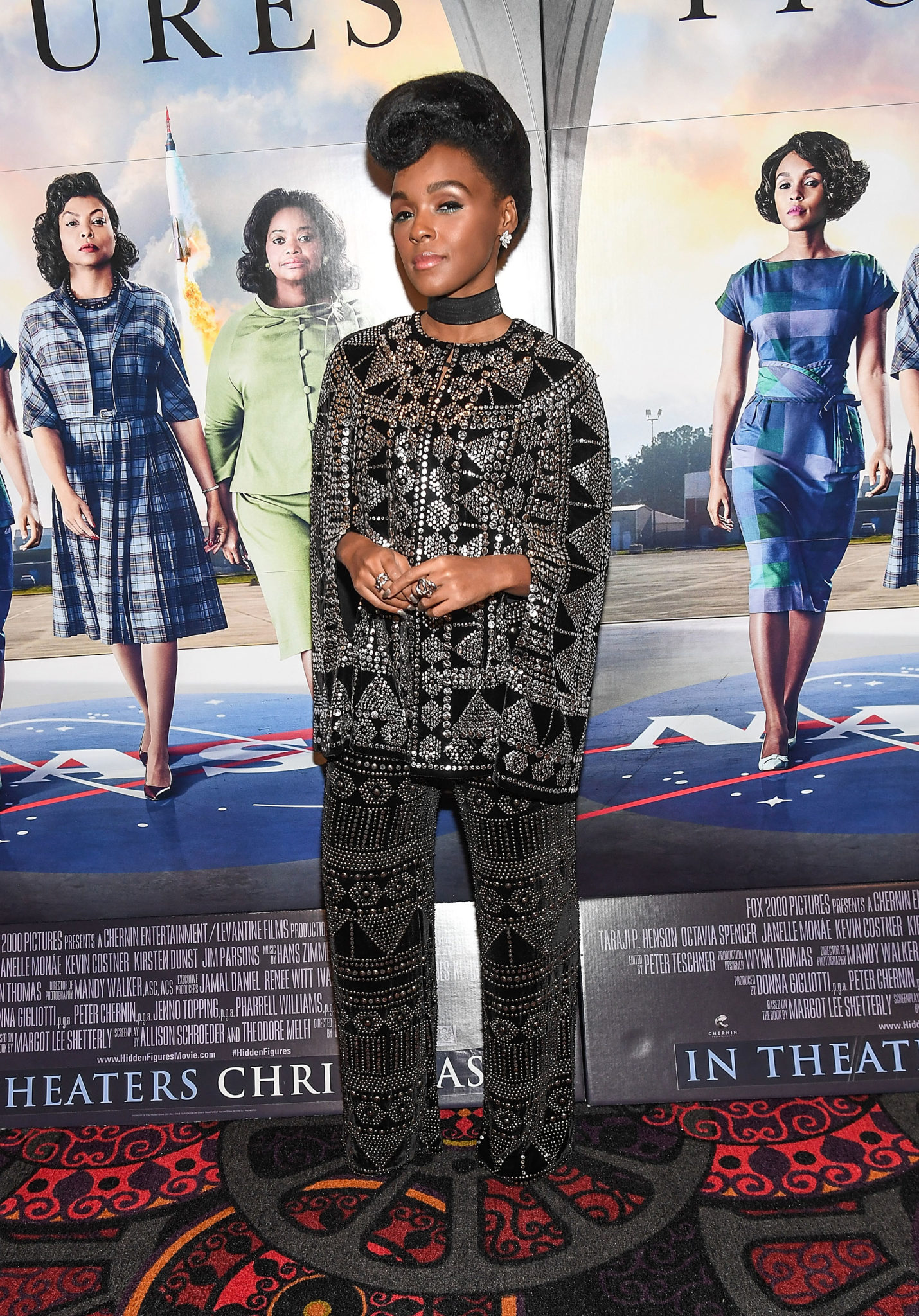 Wardrobe Breakdown: Janelle Monae At 'Hidden Figures'