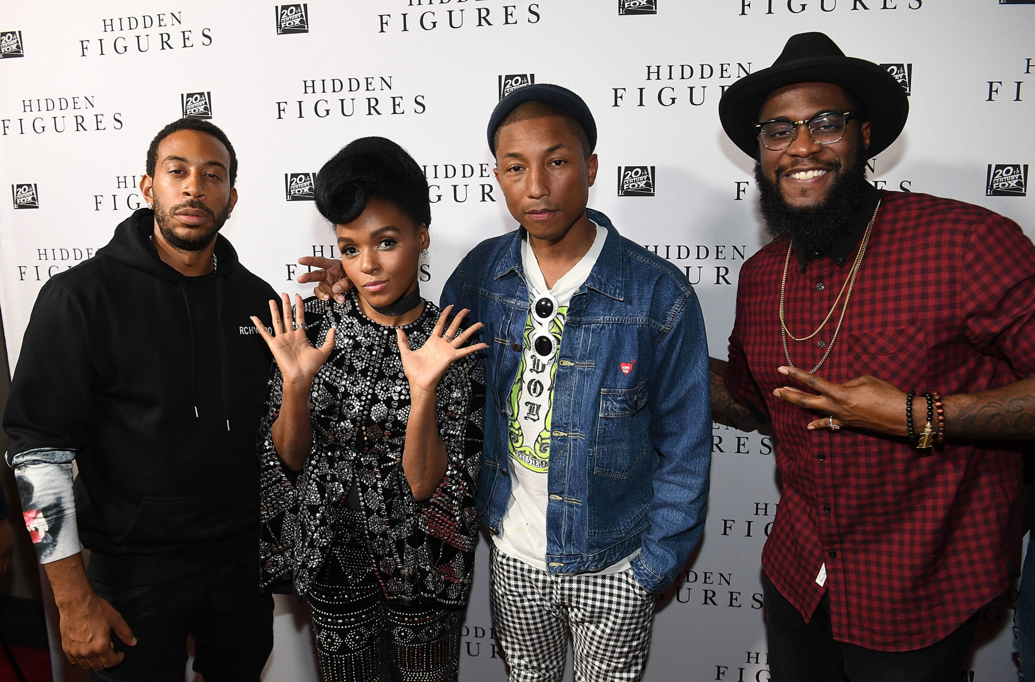 """HIDDEN FIGURES"" Soundtrack Listening Party Hosted by DJ Drama with Janelle Monae & Pharrell Williams"