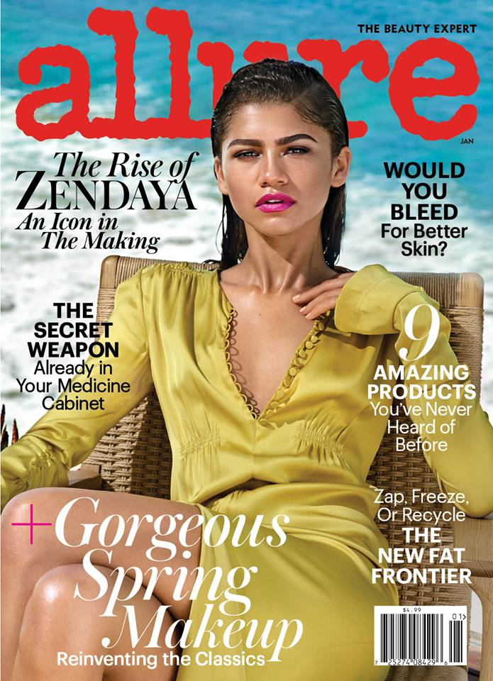 Wardrobe Breakdown: Zendaya Coleman For Allure Magazine