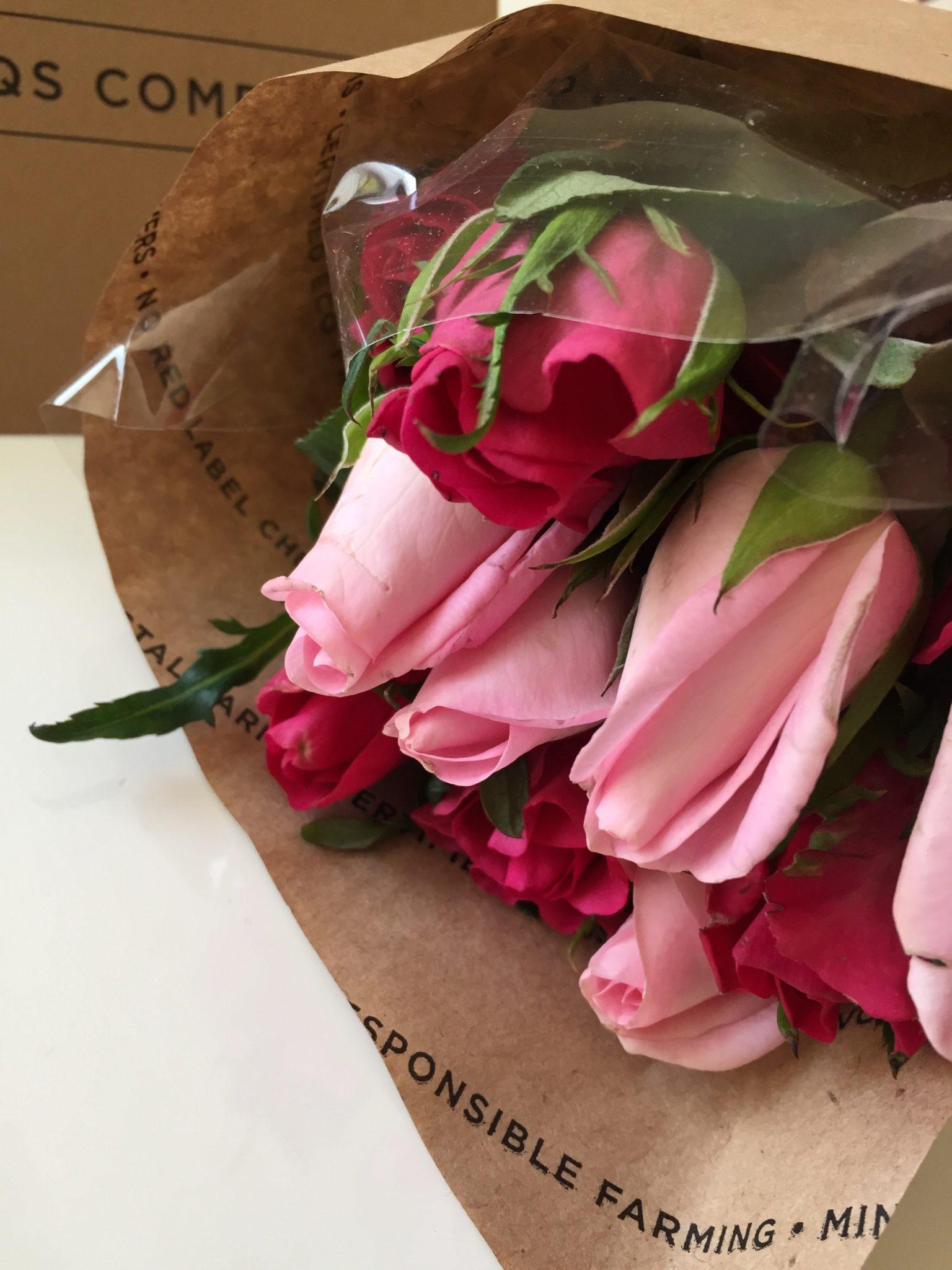 Gift Idea: The Bouqs Co. Flower Arrangements