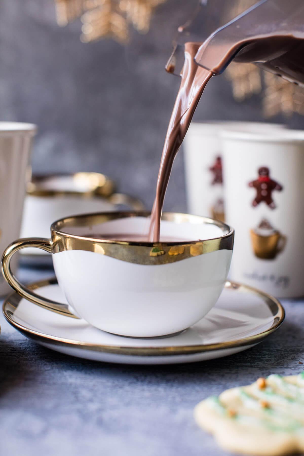 Recipe: Sugar Cookie Hot Chocolate