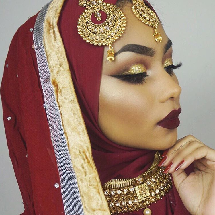 Indian Wedding Makeup: Get The Look: Sabina Hannan Indian Bridal Makeup Look