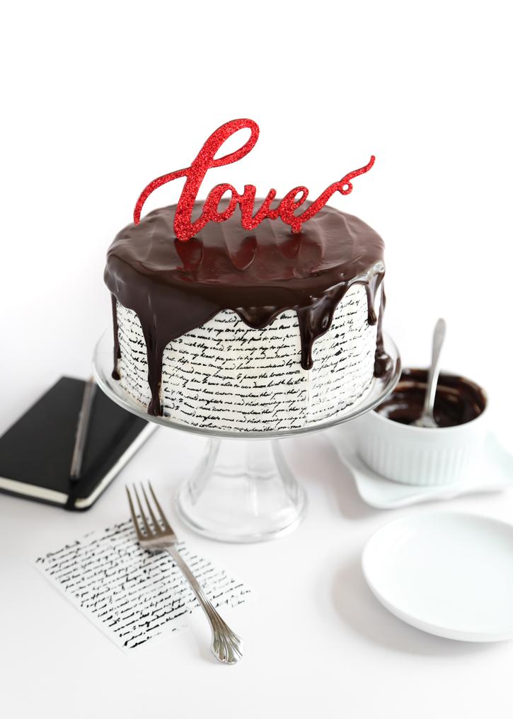 Recipe Love Letter Cake