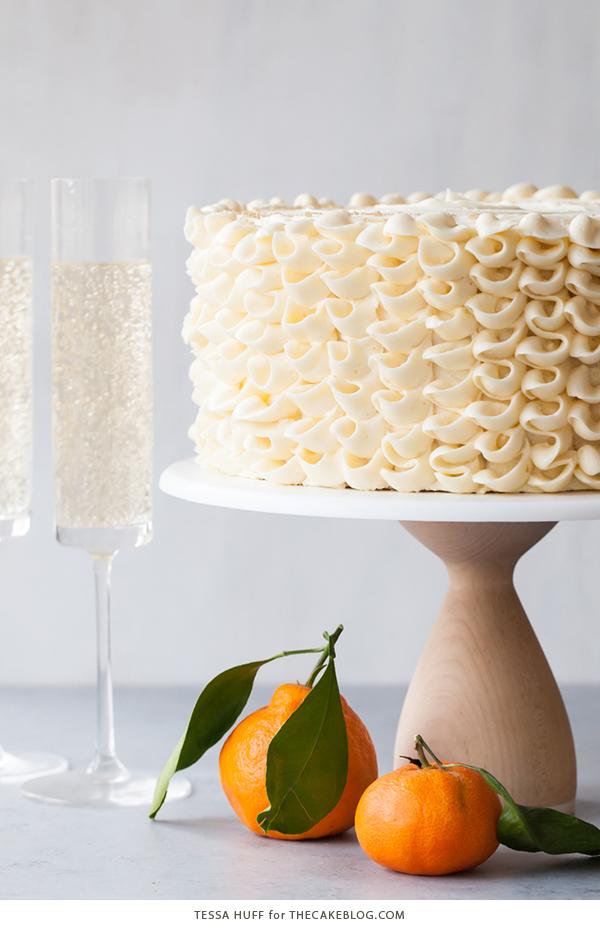 Recipe: Champagne Mimosa Cake