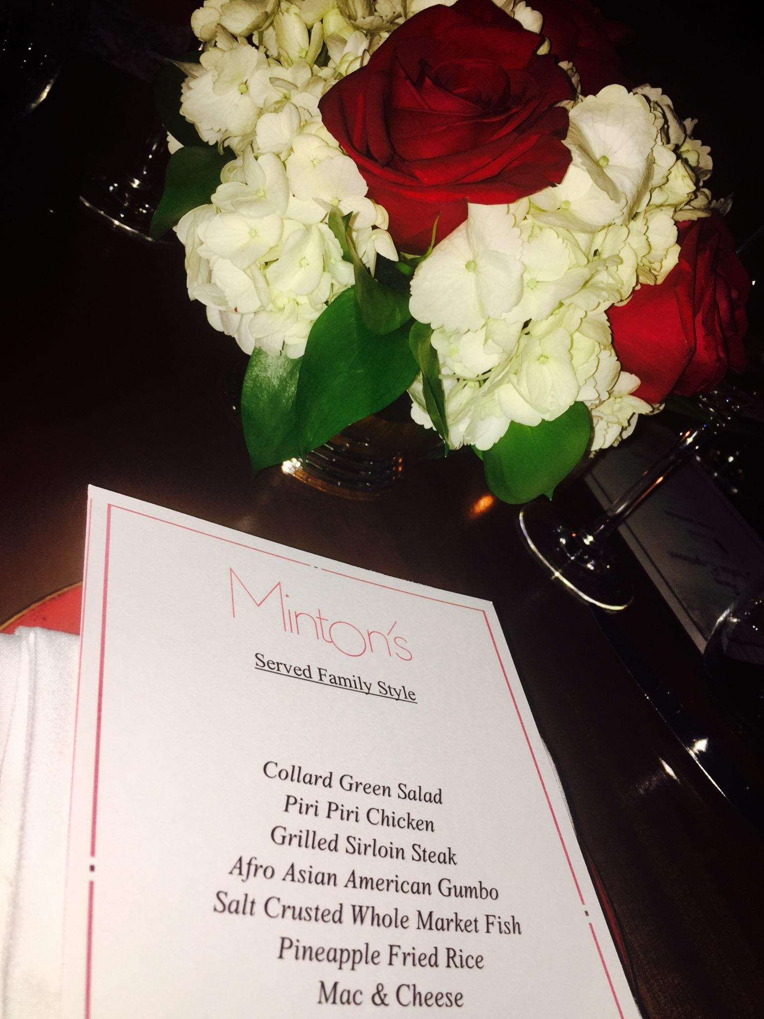 Dinner At Minton's In Harlem, New York