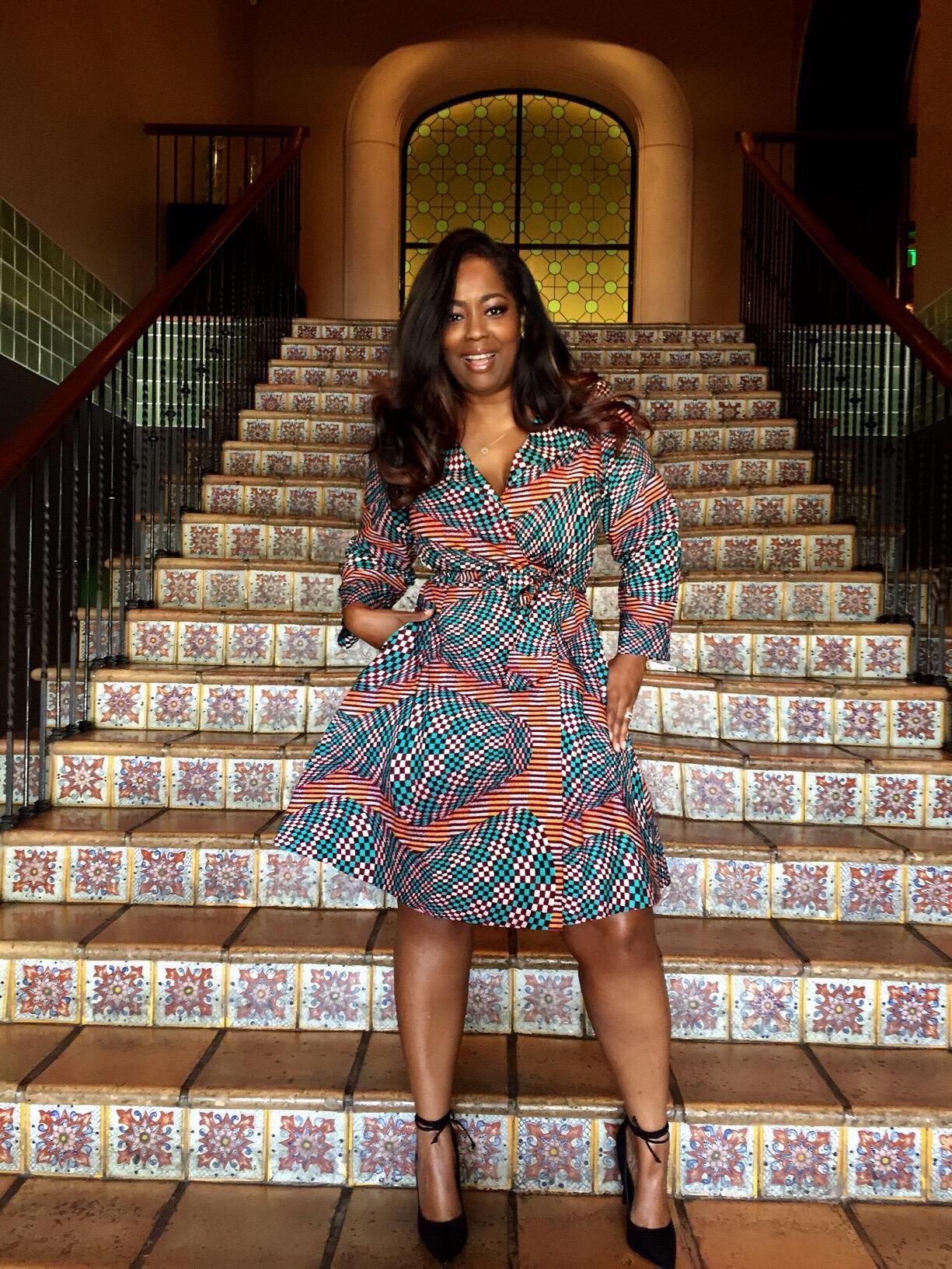 My Style: SuakokoBetty Trina Wrap Dress