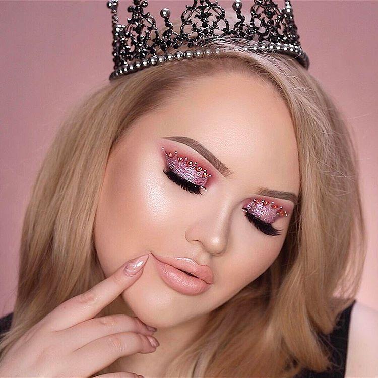 Nikkietutorials Makeup Looks >> Get The Look Nikkie Tutorials Crown Eye Makeup Talking