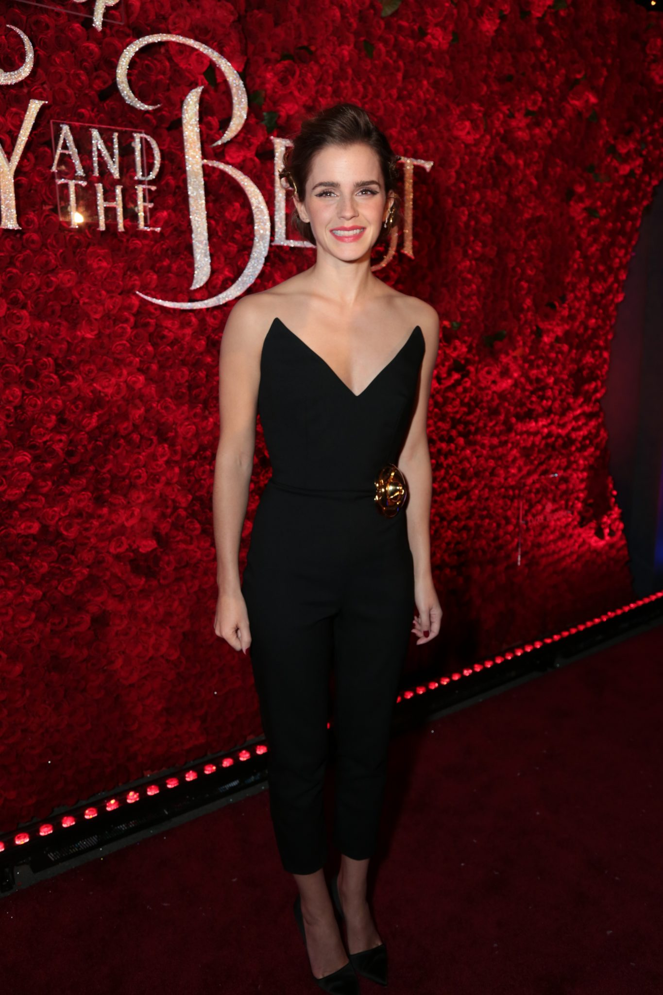 Wardrobe Breakdown: Emma Watson At The Beauty And The Beast Hollywood Premiere