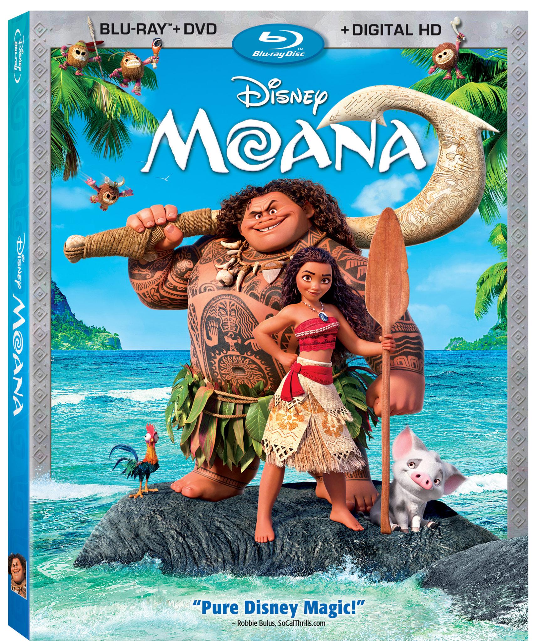 Disney Moana On BLU-RAY