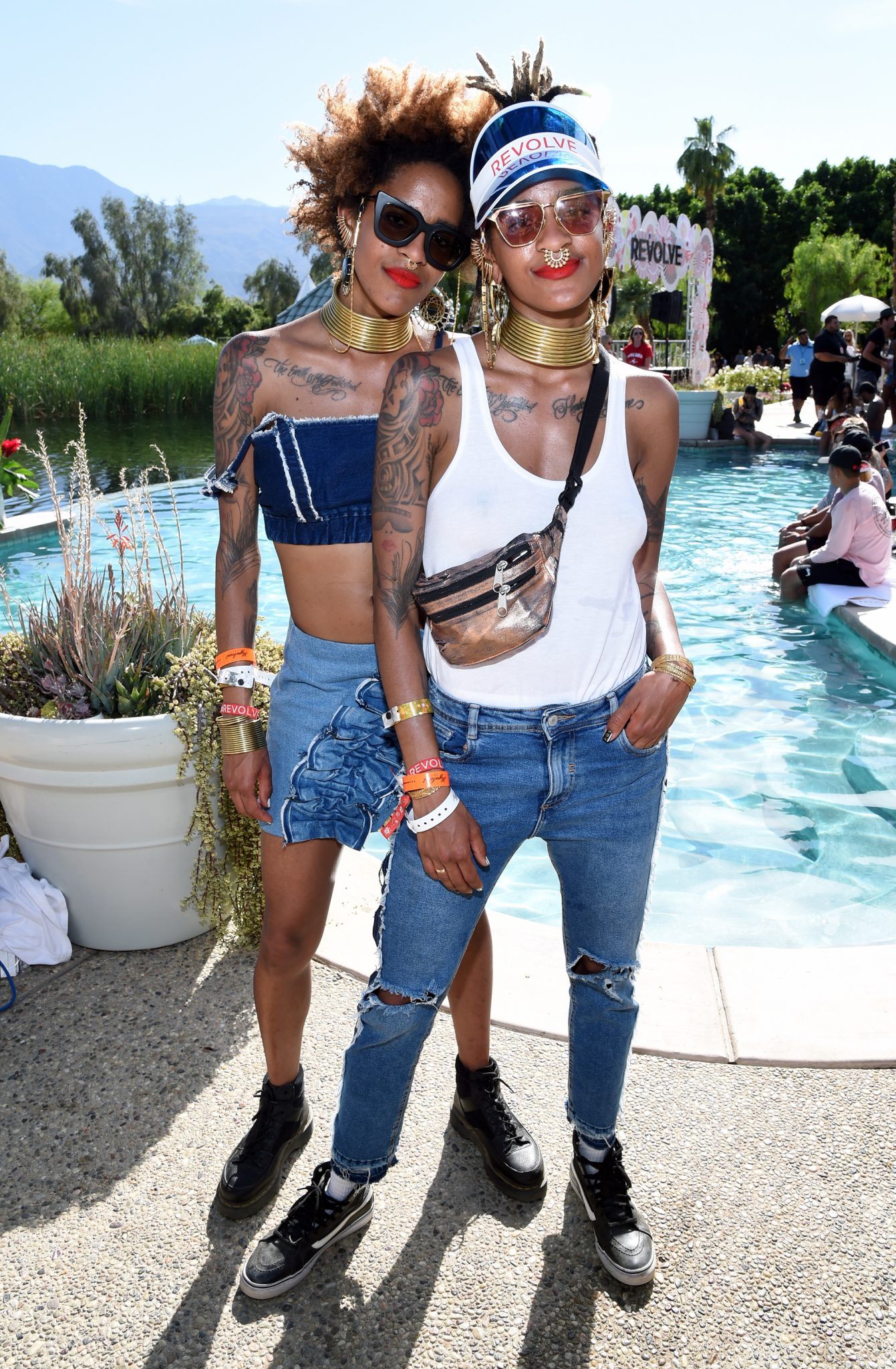 Day 2 Revolve Festival At Coachella With Moët & Chandon