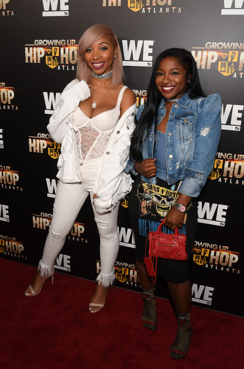 "ATL Stars Turn Out for ""Growing Up Hip Hop Atlanta"" Premiere"