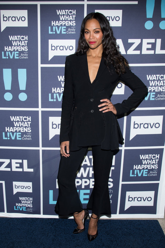 In Case You Missed It: Zoe Saldana On Watch What Happens Live