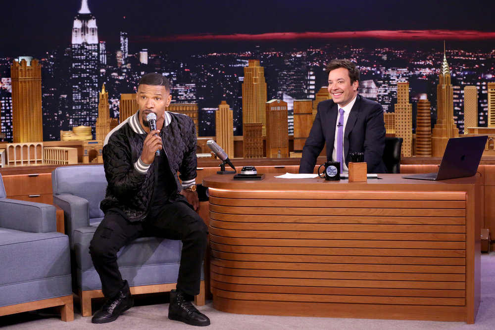 In Case You Missed It: Jamie Foxx On The Tonight Show Starring Jimmy Fallon