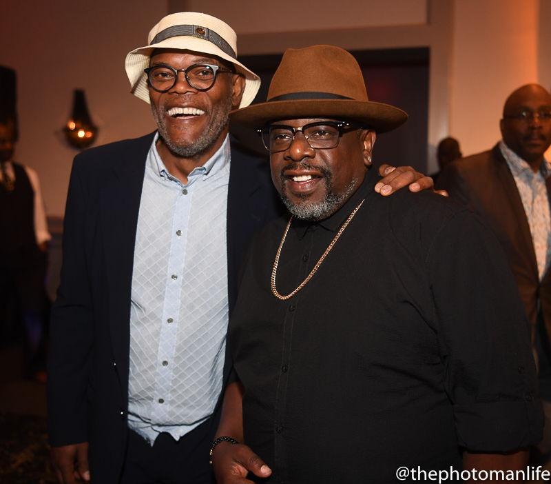 Samuel L. Jackson, Usher, Cedric The Entertainer And More Come Out For Charity Event