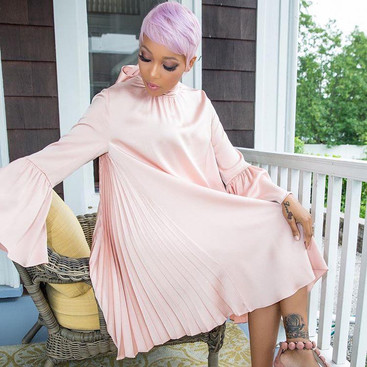 Wardrobe Breakdown: Monica At LL Cool J's Daughter's Wedding