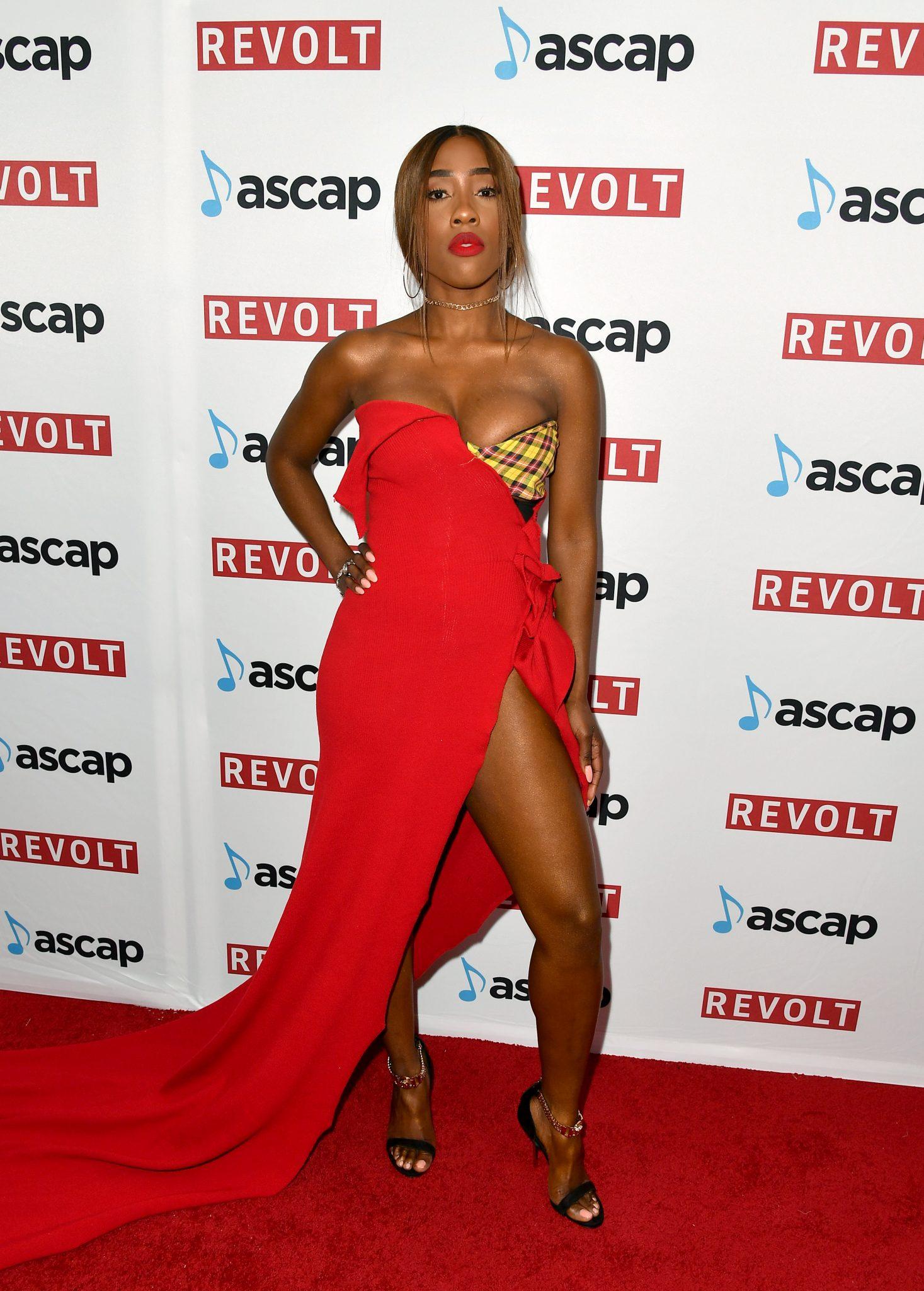 Wardrobe Breakdown: Sevyn Streeter At Ascap Rhythm & Soul Music Awards