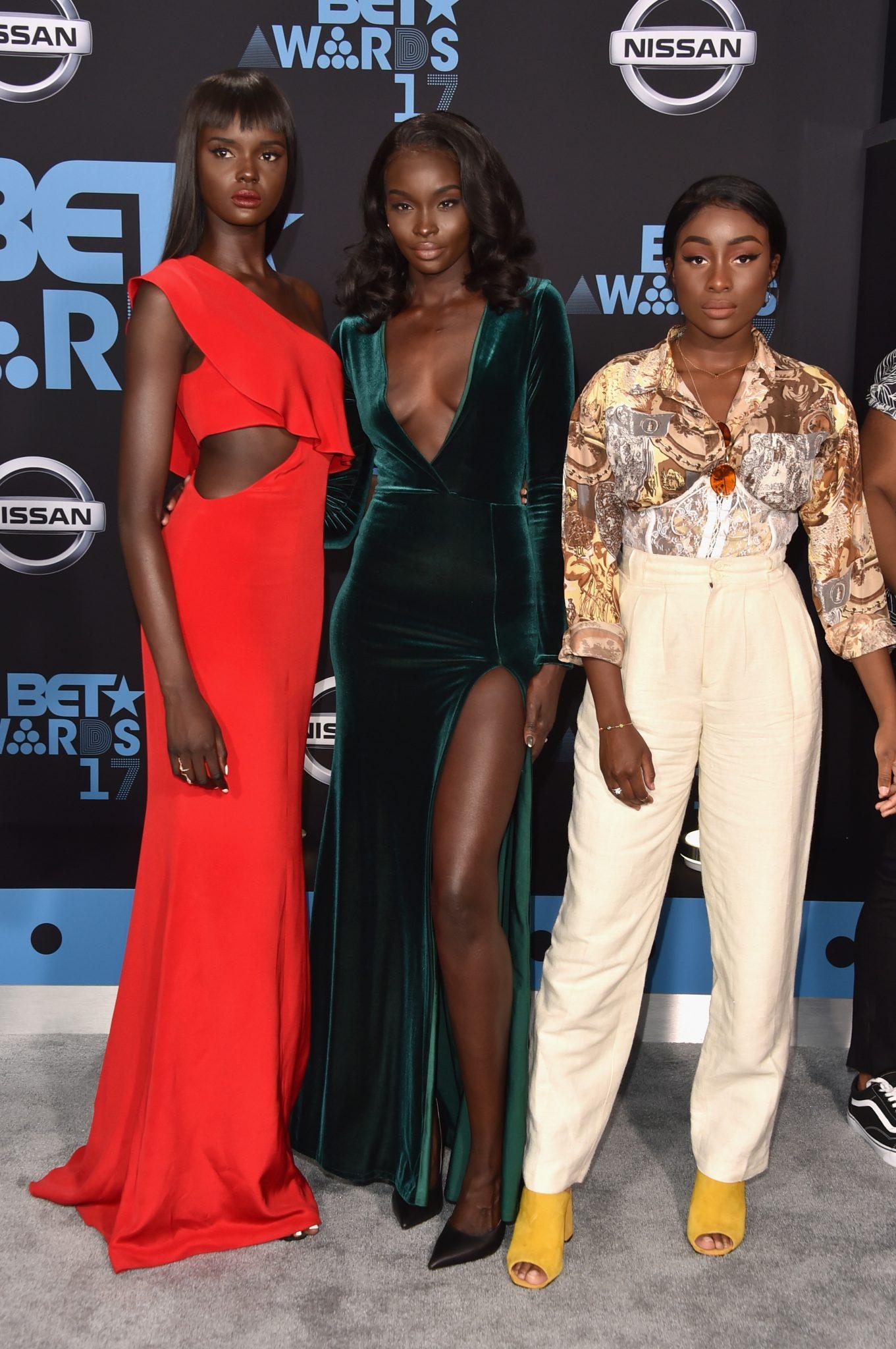International Supermodels Invade BET Awards Weekend