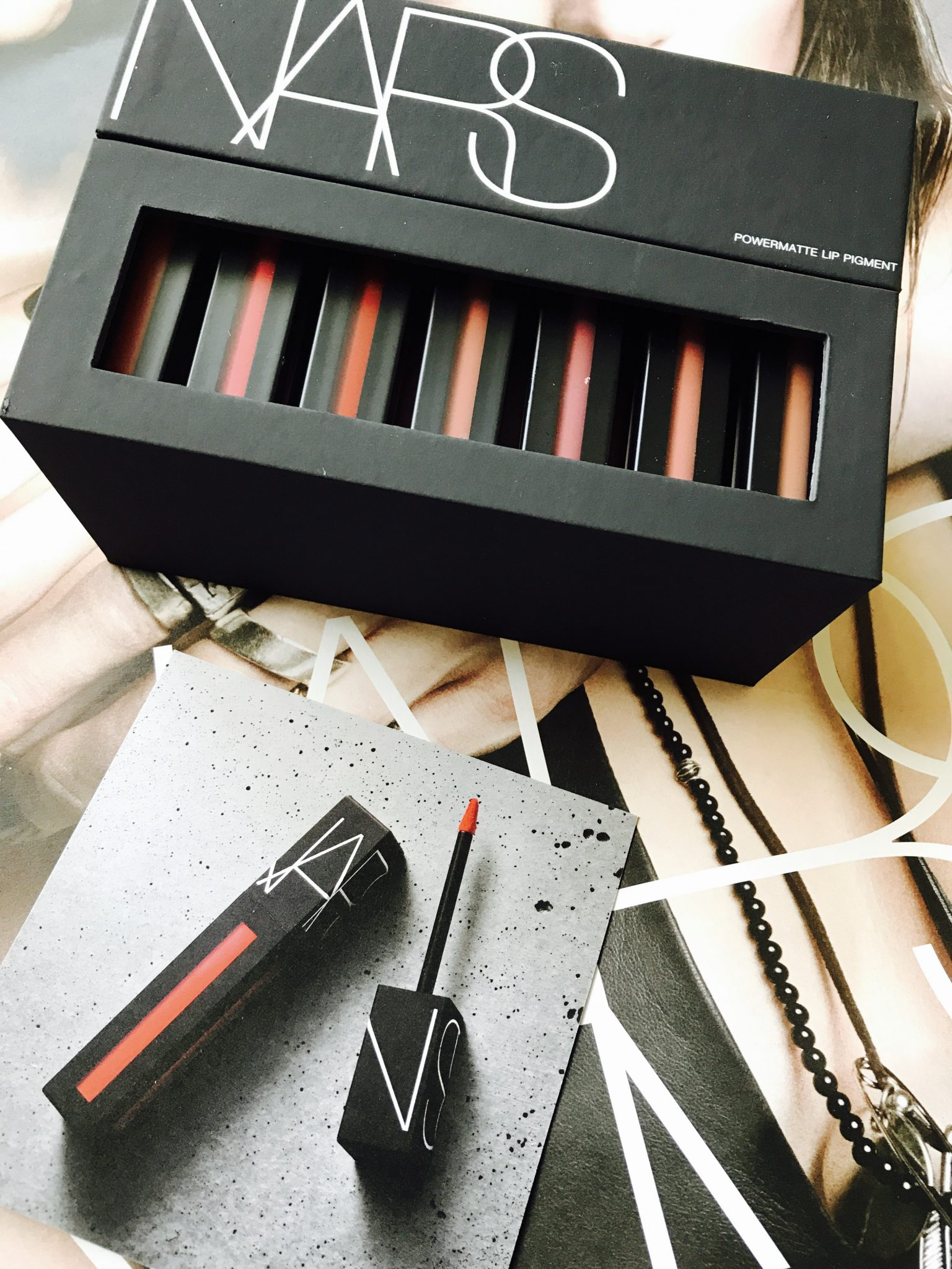 NARS Cosmetics Powermatte Lip Pigments
