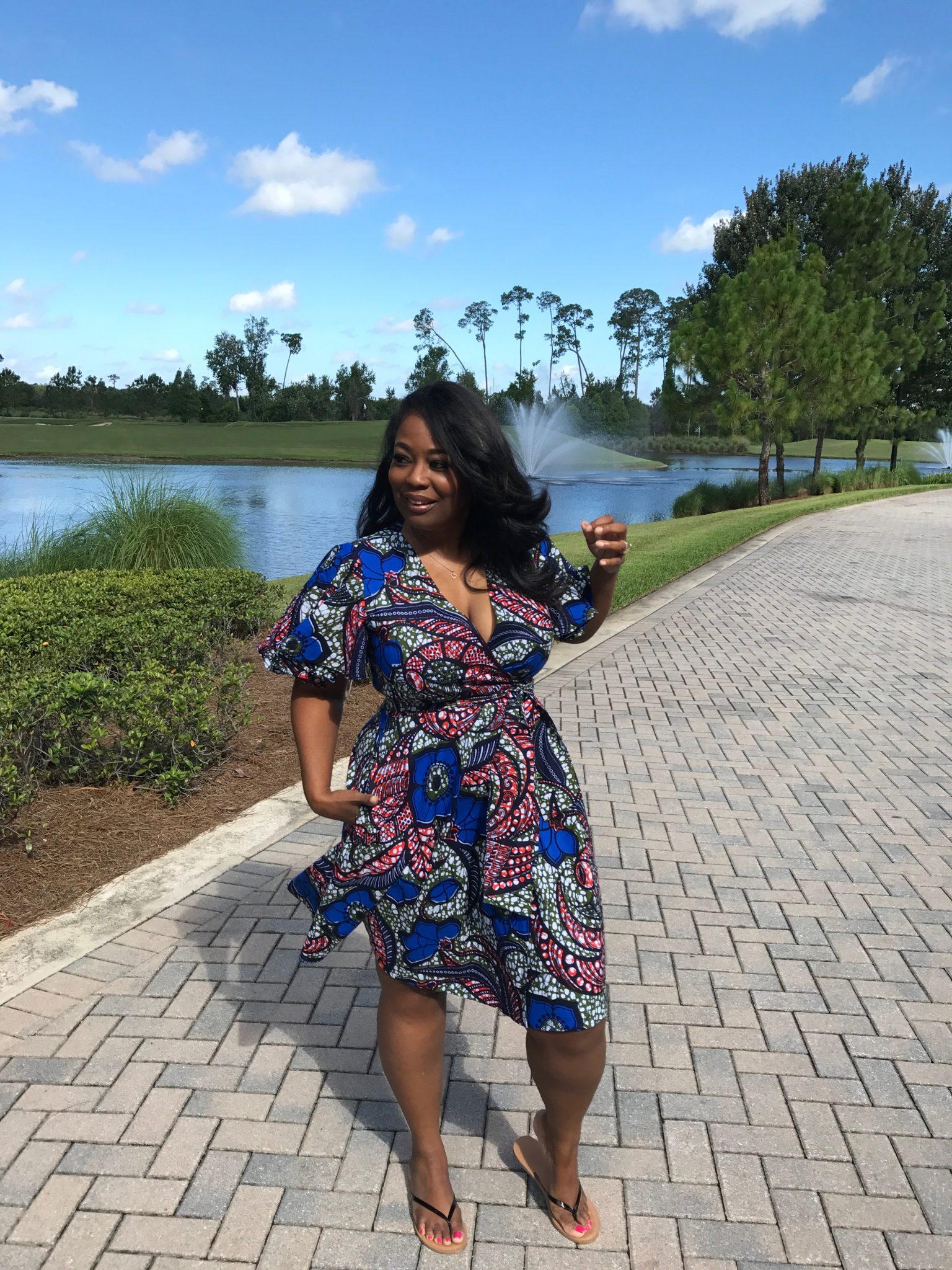 My Style: Suakoko Lango Wrap Dress