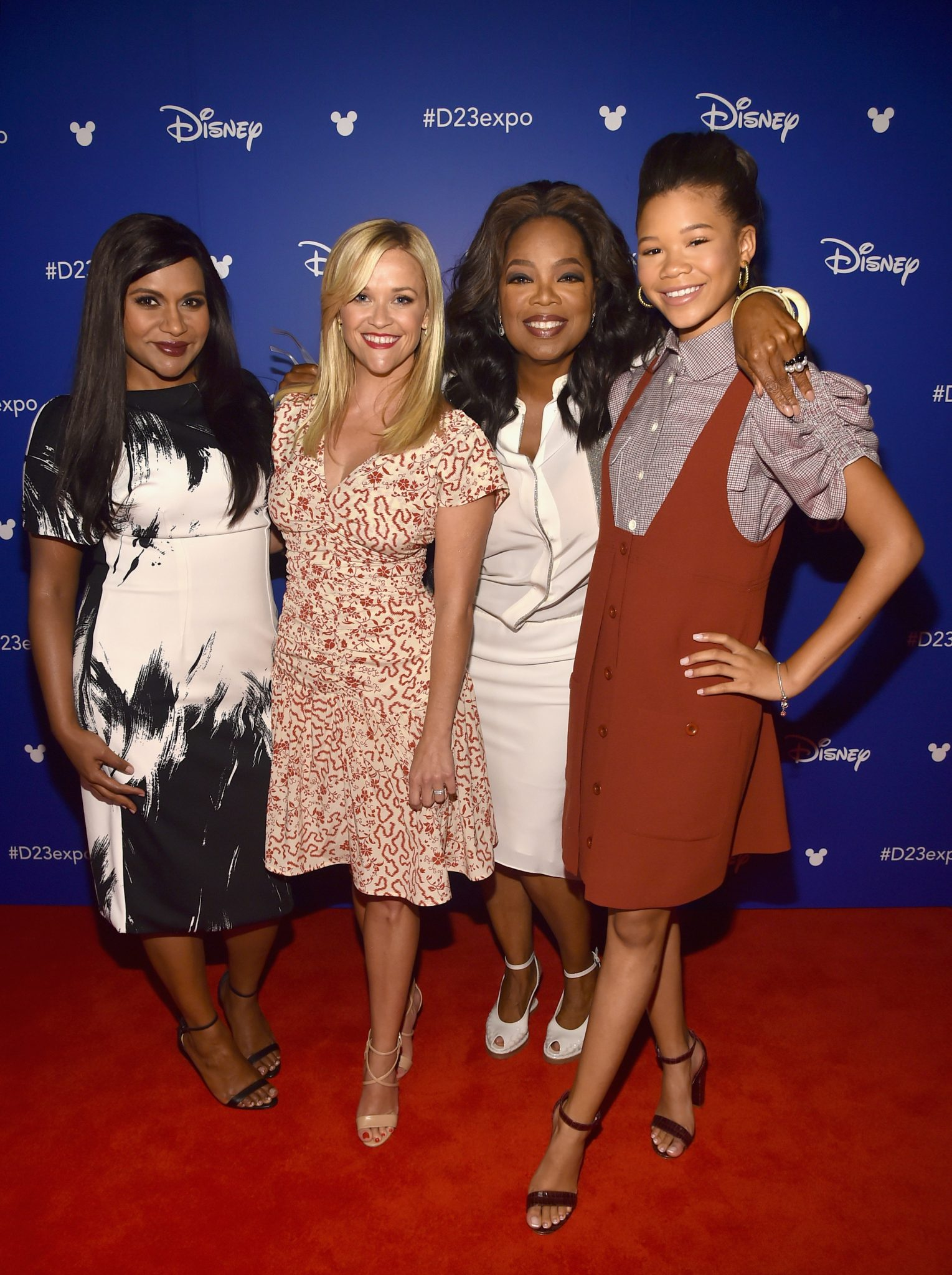 The Cast Of A Wrinkle In Time At #D23Expo