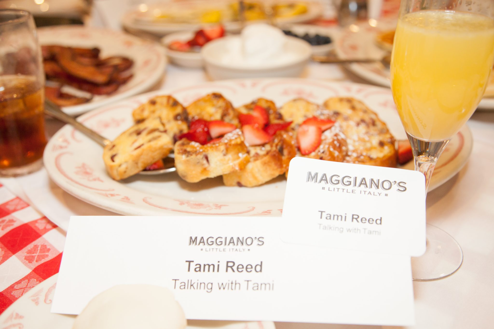 Maggiano's Little Italy Brunch With A Purpose