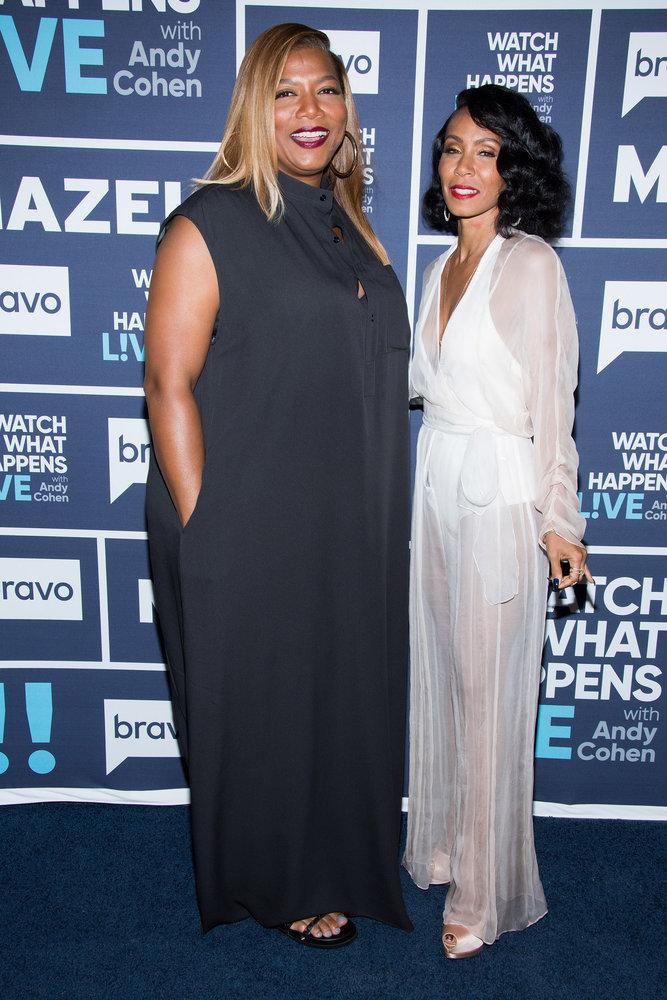 In Case You Missed It: Jada Pinkett Smith & Queen Latifah On Watch What Happens Live