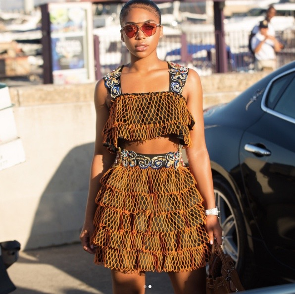 Wardrobe Breakdown: Lori Harvey In Italy