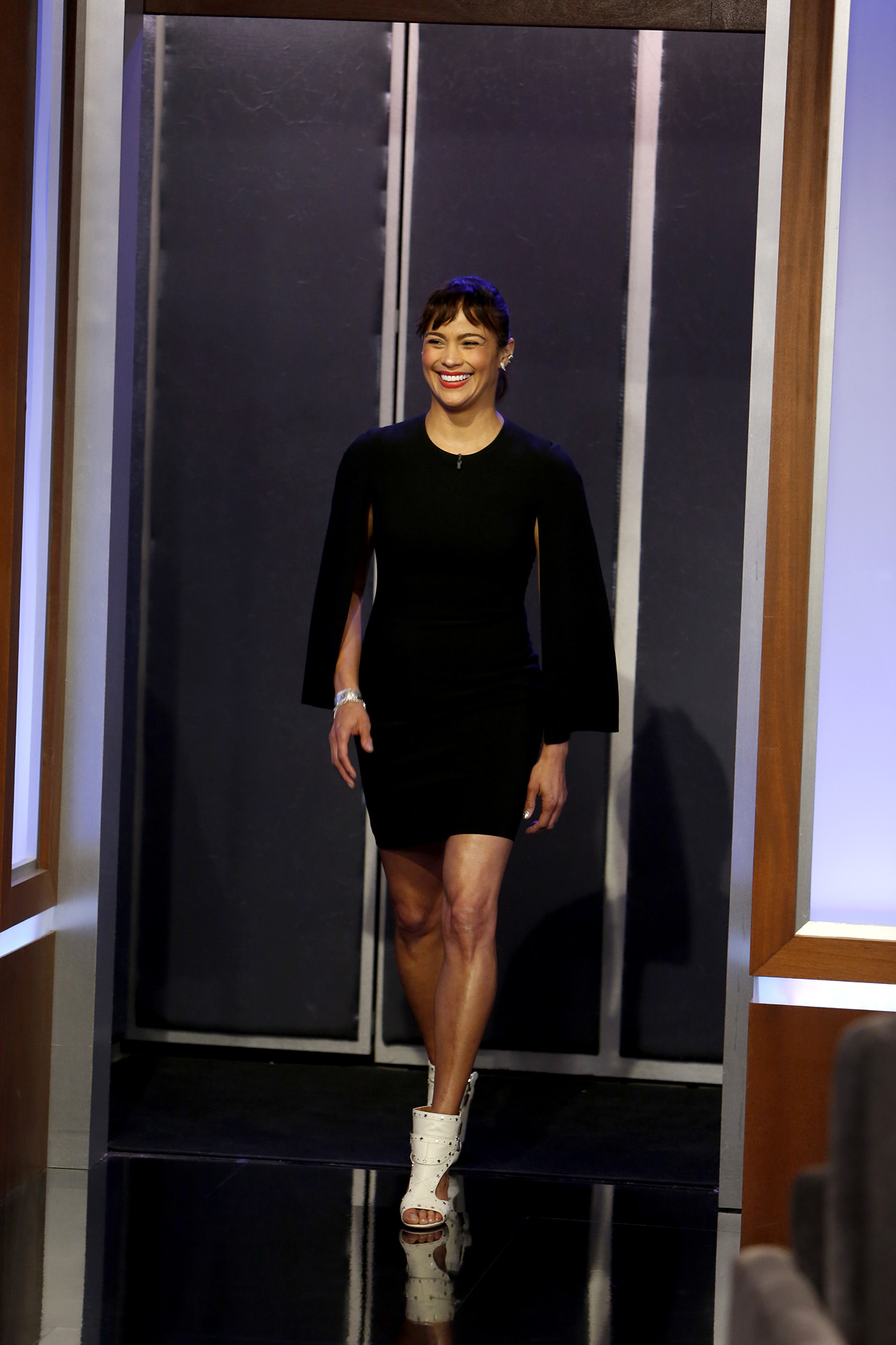 In Case You Missed It: Paula Patton On Jimmy Kimmel Live!