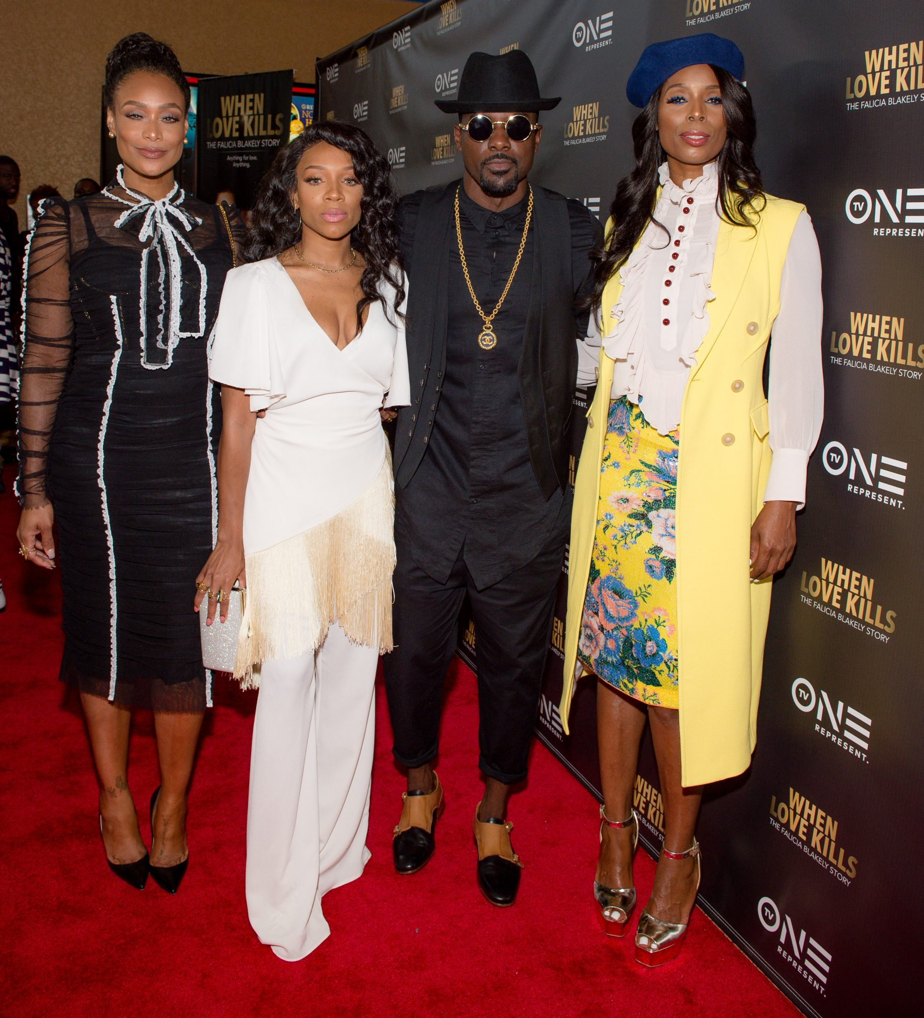 Red Carpet Arrivals: When Love Kills The Falicia Blakely Story