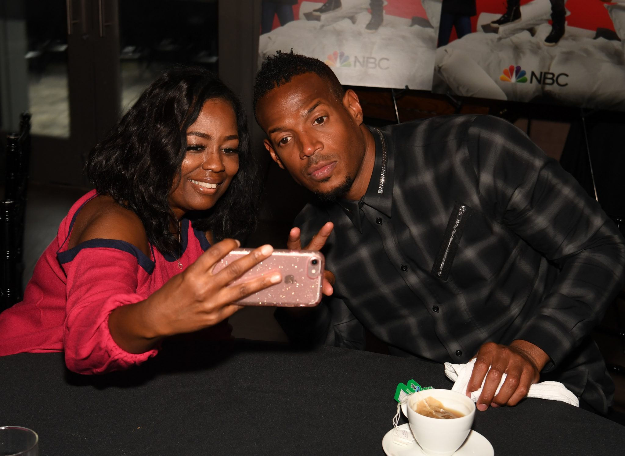 Marlon Wayans Private Dinner In ATL - Talking With Tami