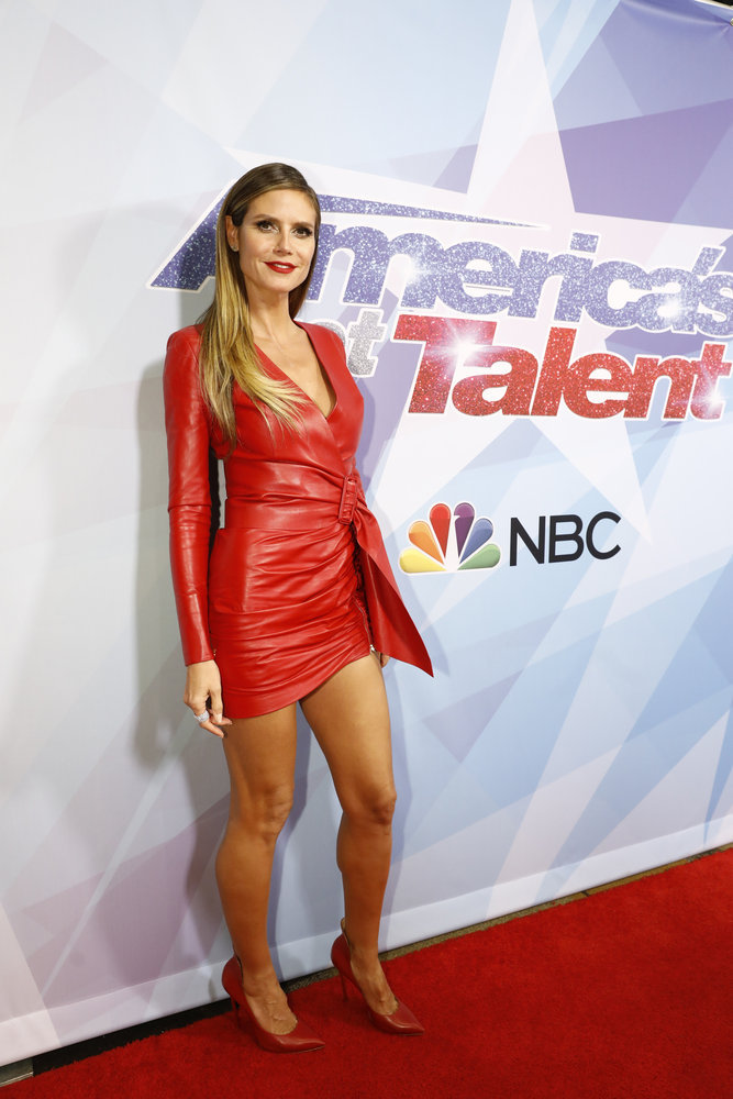 Wardrobe Breakdown: Heidi Klum On America's Got Talent