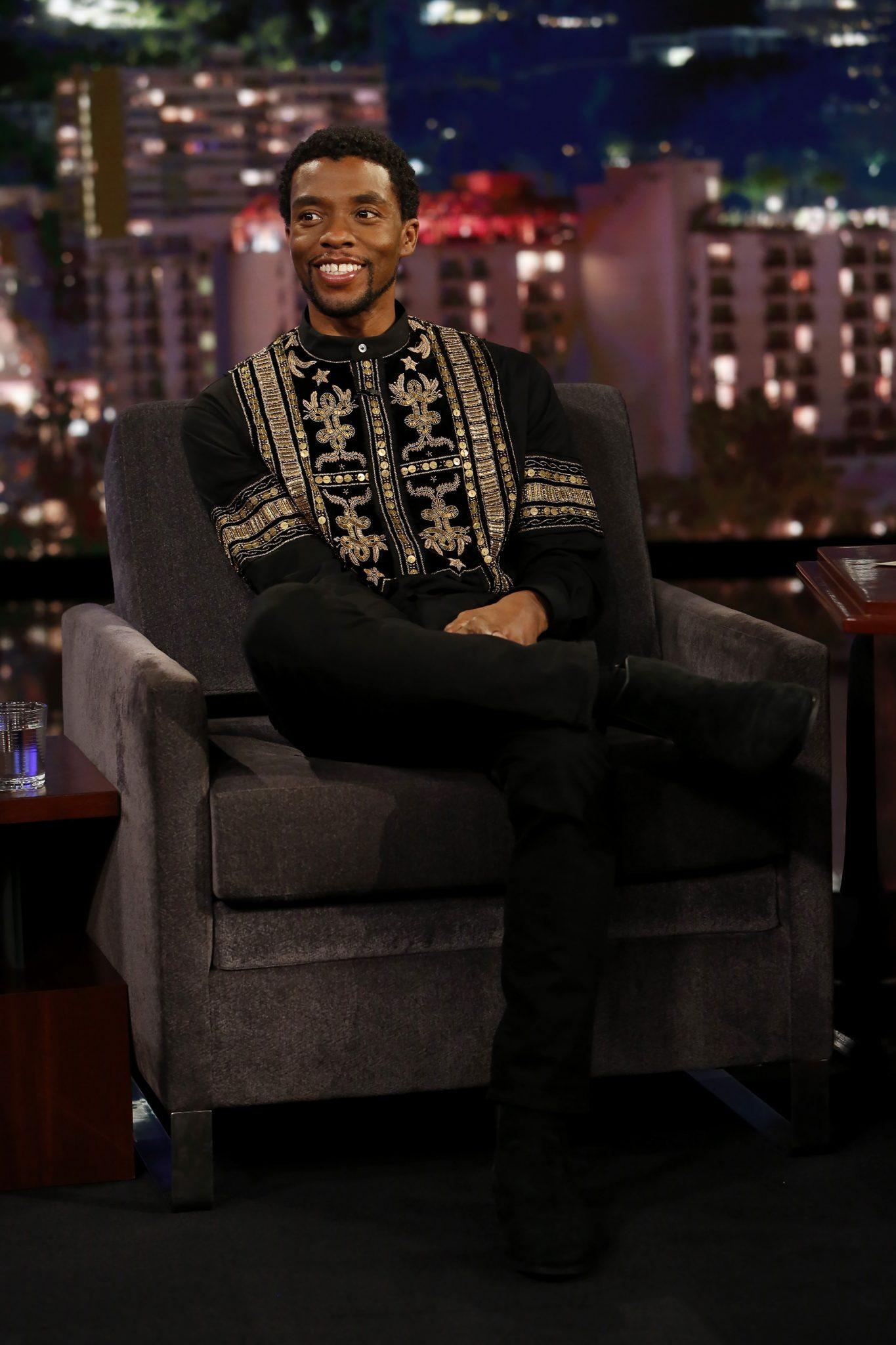 In Case You Missed It: Chadwick Boseman On Jimmy Kimmel Live