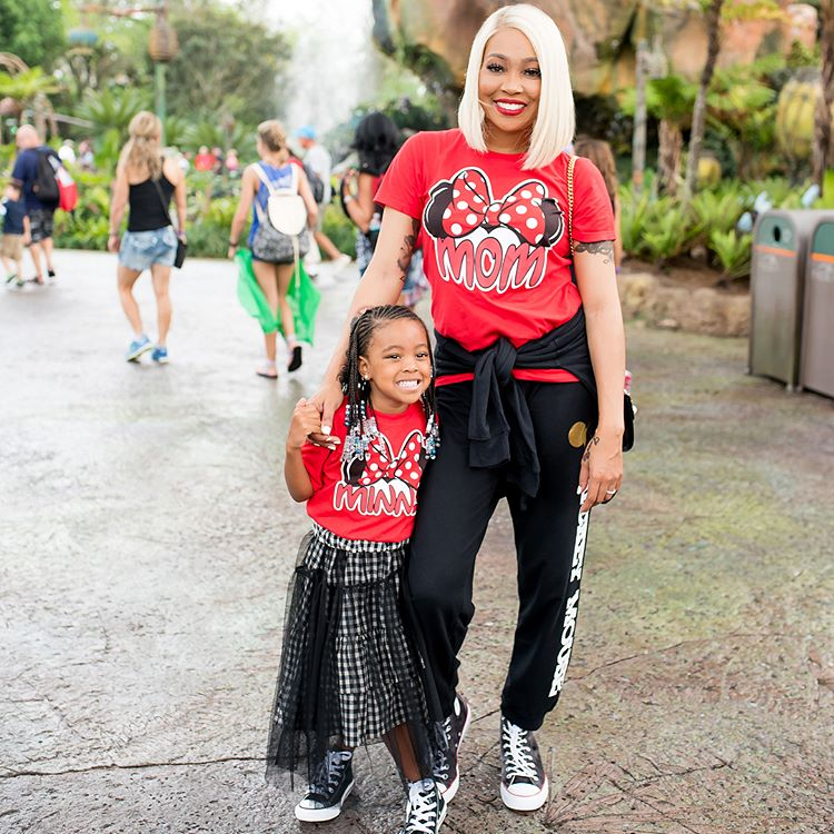 Wardrobe Breakdown: Monica & Laiyah Brown At Disney